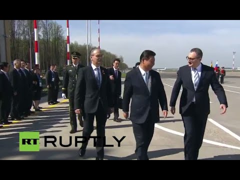 LIVE: Chinese President Xi Jinping visits Moscow for 70th Victory Day anniversary