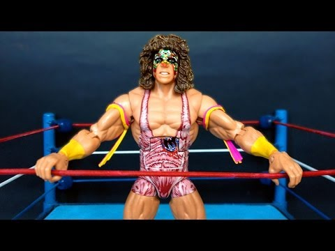 ULTIMATE WARRIOR WWE Elite Collection 26 Action Figure Review