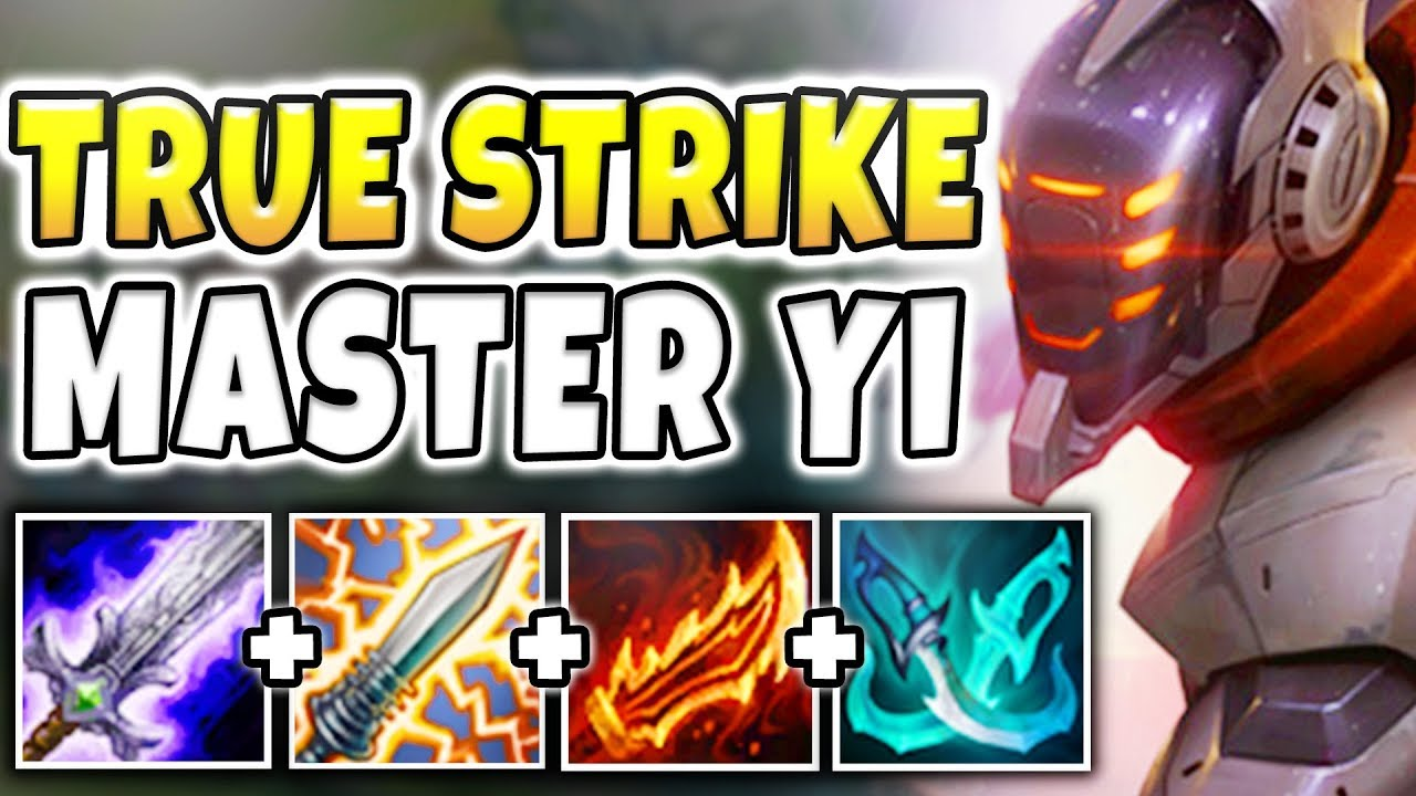THIS REWORK MASTER YI BUILD IS BUSTED! 4000+ TRUE DAMAGE PER SECOND BUILD! - League of Legends