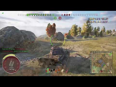 World of Tanks Xbox one King Tiger 4 Kills