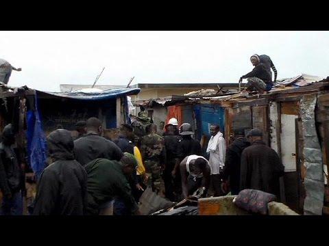 Wegen Ebola: Viertel in Conakry zwangsgeräumt und niedergerissen