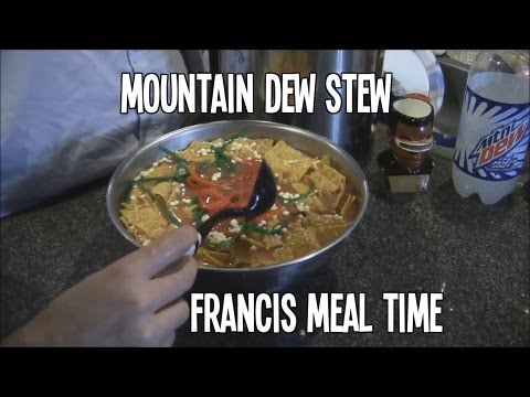 Francis Meal Time - Mountain Dew Stew (Epic Meal Time Parody)