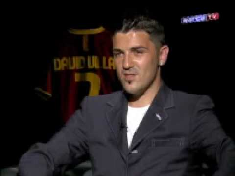patricia gonzalez david villa. David Villa interview with
