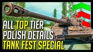 ► NEW High Tier Polish Details + Tank Fest 2018 Special! - World of Tanks Polish Tanks News