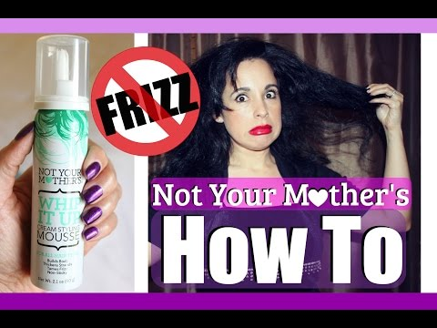 INFLUENSTER: How To & Review || Not Your Mother's Whip It Up Mousse