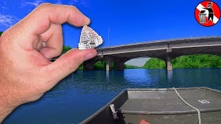 Found a QUARTZ CRYSTAL while Scuba Diving for river treasure