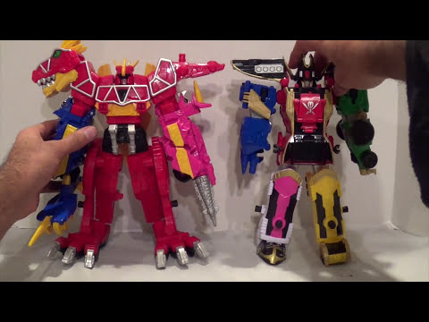 Dino Charge Megazord Review [Power Rangers Dino Charge]