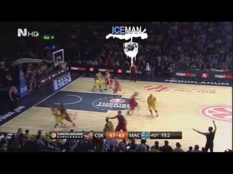 CSKA - Maccabi 67-68 Last moments! (Final-4 2014)