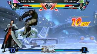 UMvC3 IOG Mr Certified vs CTRL Unknown - The RunBack Pre SCR 2014