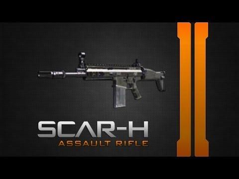 Black Ops 2 Гайд - SCAR-H