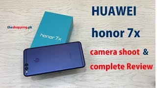 HUAWEI HONOR 7X | BLUE COLOR | CAMERA REVIEW