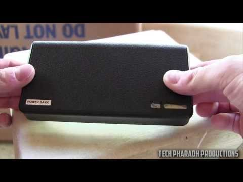 Wallet Design 20000 mAh Power Bank Review from Banggood