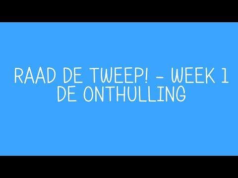 Raad De Tweep - Week 1: De Onthulling