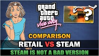 GTA VC - Why Steam is NOT a bad version? [Comparison] - Feat. MrMario