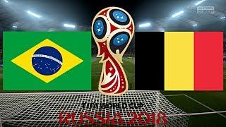 BRASILIEN vs. BELGIEN   WM 2018 VIERTELFINALE