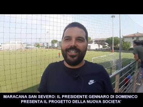 """LE NOSTRE INTERVISTE: IL PRESIDENTE GENNARO DI DOMENICO PRESENTA IL """"SUO"""" MARACANA SAN SEVERO"""