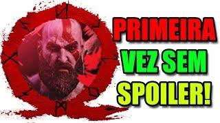 GOD OF WAR: SEM SPOILER! SPOILER = BAN, PRIMEIRA VEZ ZERANDO O JOGO!