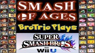 Smash of Ages Brotrio Plays Super Smash Bros for Wii U