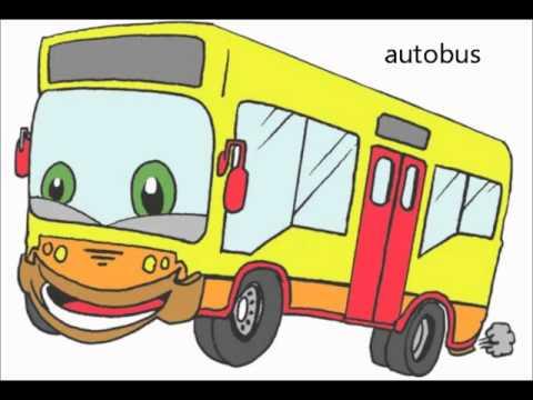 video de los medios de transporte terrestre - YouTube
