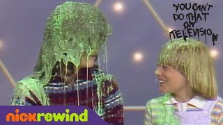 '80s Kids Get Slimed | You Can't Do That On Television | NickRewind
