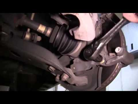 How to Replace the Front Brake Pads and Rotors in a 2007 Toyota Camry