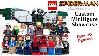 LEGO Spider-Man: Homecoming Custom Minifigure Showcase