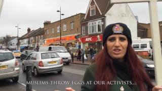 Muslims Attack Christians in UK-- We're  Taking Over!'