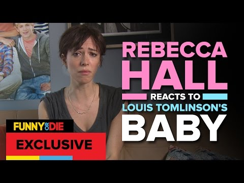 Rebecca Hall Responds to One Direction's Louis Becoming a Dad