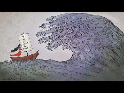 رسامو كاريكاتيرمبدعون رغم الخطر الذي يحيط بحياتهم – le mag