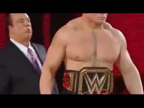 Brock Lesnar vs Roman Reigns, WWE World Heavyweight Championship Wrestlemania 31 Full Match HD   You thumbnail