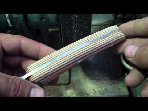 Basic Knife Handle Contouring Tutorial