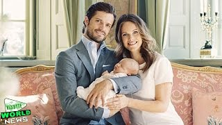 Prince Carl Philip and his wife Princess Sofia share stunning new portraits
