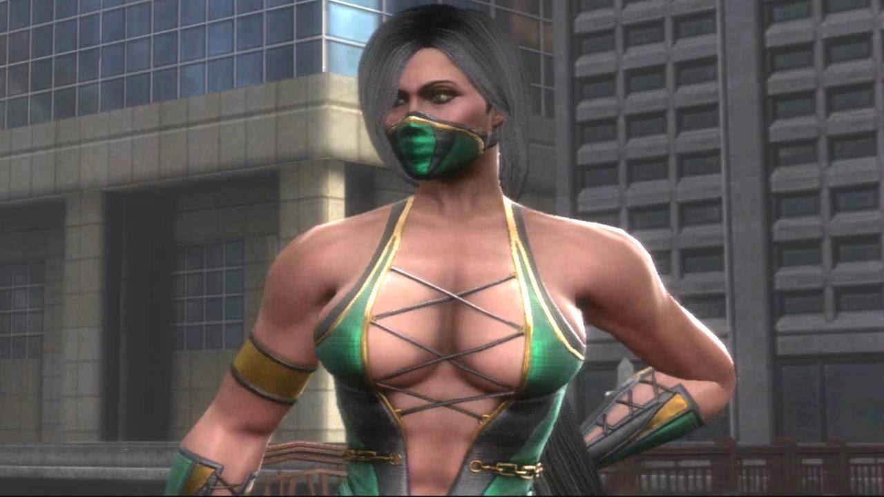 Mortal Kombat Jade Kitana Sheeva Sonya 3D Animation