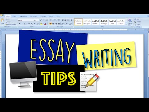 organize college essay