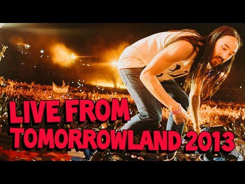 Steve Aoki Live From Tomorrowland 2013 - Main Stage video