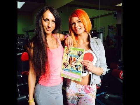 Анастасия Лейс и Мария Цкирия специально для группы Stay Fit 2014