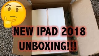 2018 IPAD 9.7 INCH 128GB UNBOXING (GOLD)