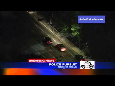 Southern California Police Pursuit - May 23, 2013