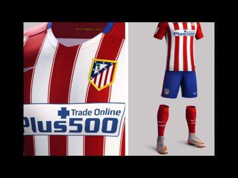 maillot Atletico de Madrid domicile 2015-2016
