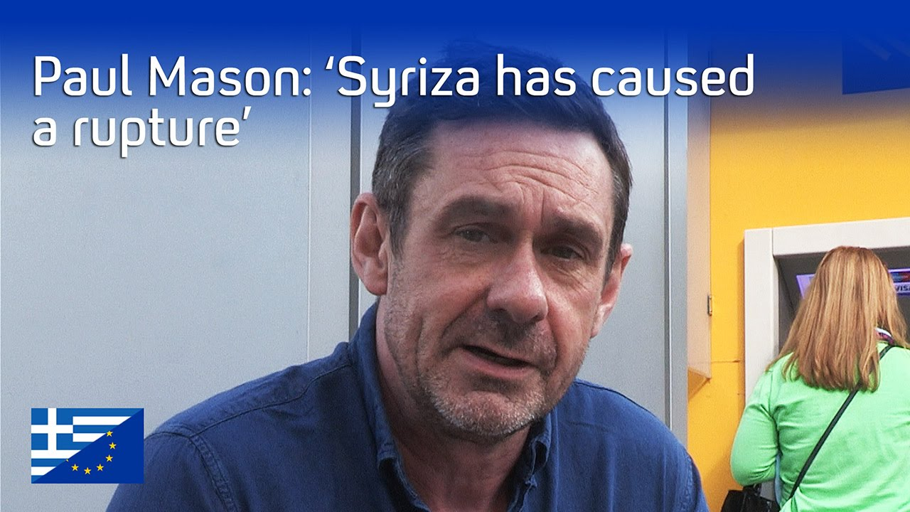 Greece on the brink: what happens next? Paul Mason (Episode 1)