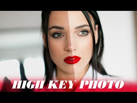 High Key Photo Look - Photoshop Tutorial