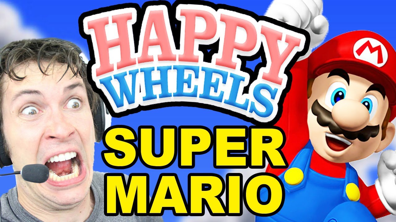 happy wheels mario