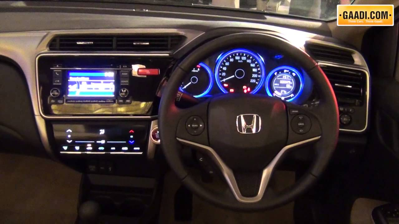 2015 honda city interior car interior design for Image city interiors