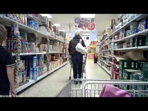 Shopping at Tesco's Chorley