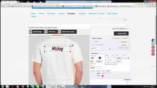 [How to design shirts for your team.] Video