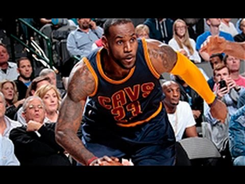 Lebron Goes Without Headband, Leads Cavs with 27-points