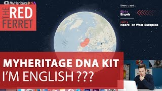 MyHeritage DNA Kit - I'm Actually English? WHAT?? [REVIEW]