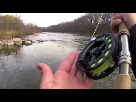Milwaukee River Fly Fishing 2012