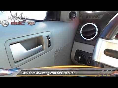 Used 2008 Ford Mustang DELUXE - MIDLAND, ODESSA, LUBBOCK, ABILENE, HOBBS