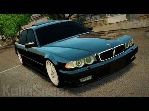 BMW 750iL E38 Light Tuning